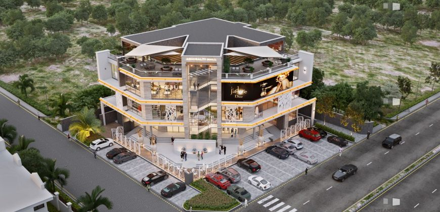 Newly Built Worldclass Shopping Mall on Admiralty Lekki phase 1