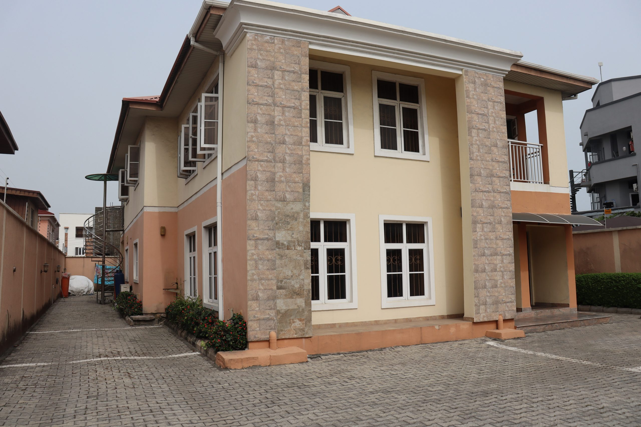 3 Bedroom ground floor unit at Lekki Phase 1