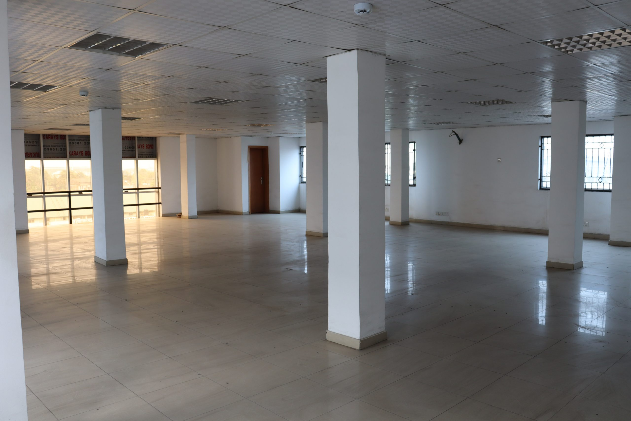 175sqm 4th Floor Office space at Yaba