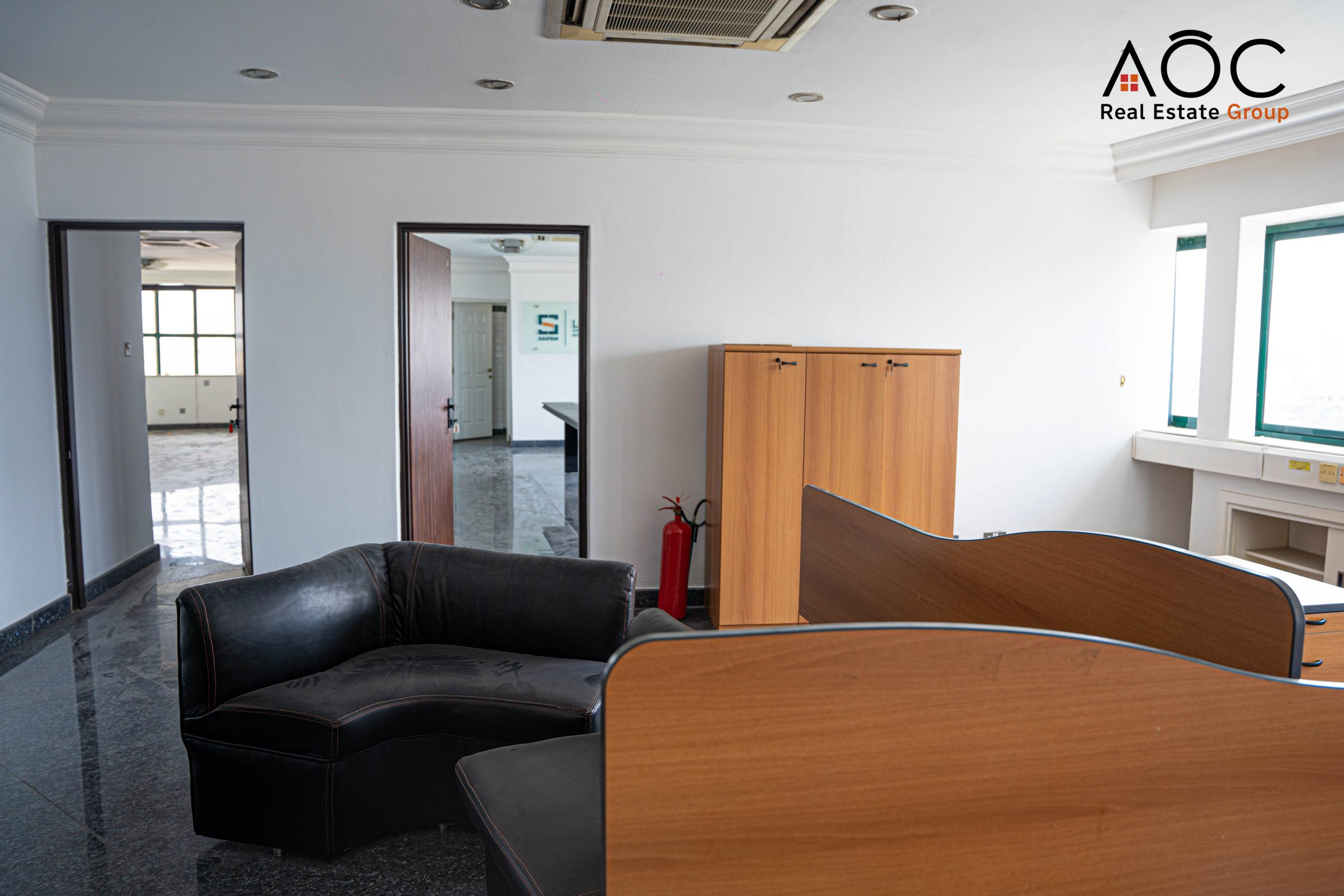 Executive Penthouse Office Space In High Rise Office Building